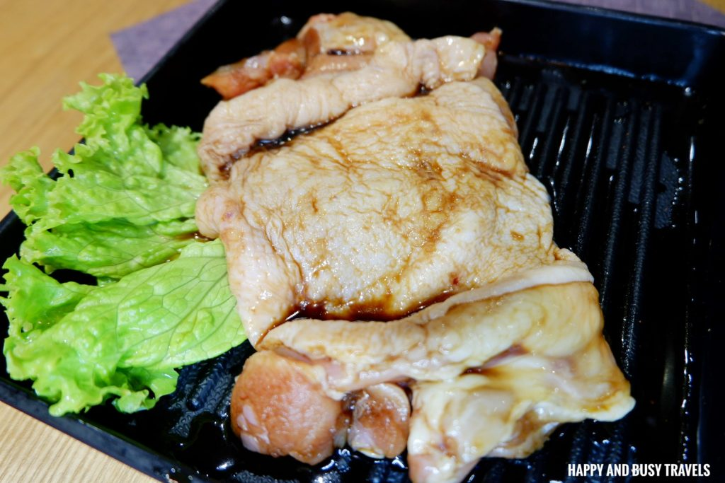 Chicken samgyupsal Jin Joo Korean Grill - Happy and Busy Travels