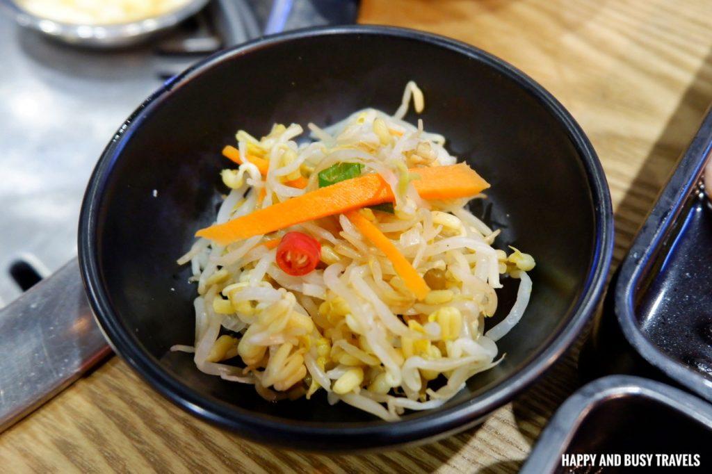 sides samgyupsal Jin Joo Korean Grill - Happy and Busy Travels