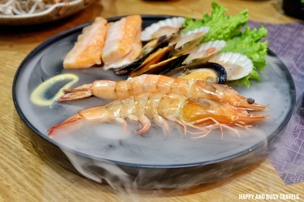 seafood platter Jin Joo Korean Grill - Happy and Busy Travels