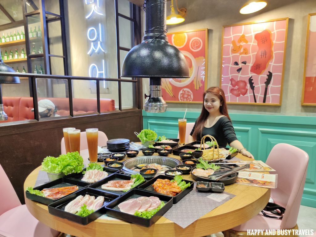 Jin Joo Korean Grill - Happy and Busy Travels