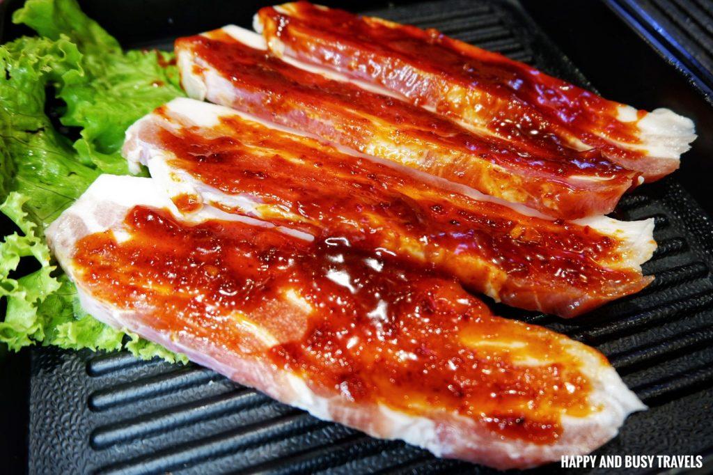 pork korean chilli samgyupsal Jin Joo Korean Grill - Happy and Busy Travels