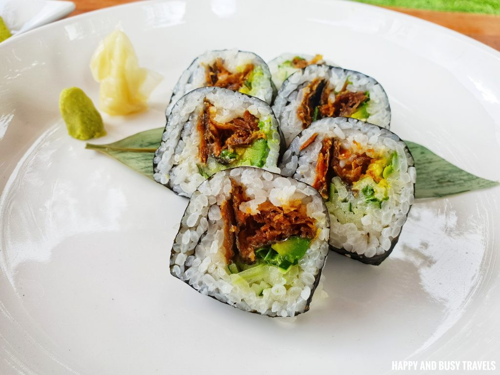 Tuna Tataki Sushi Marcus Cafe Villa Jovita - Happy and Busy Travels to Silang