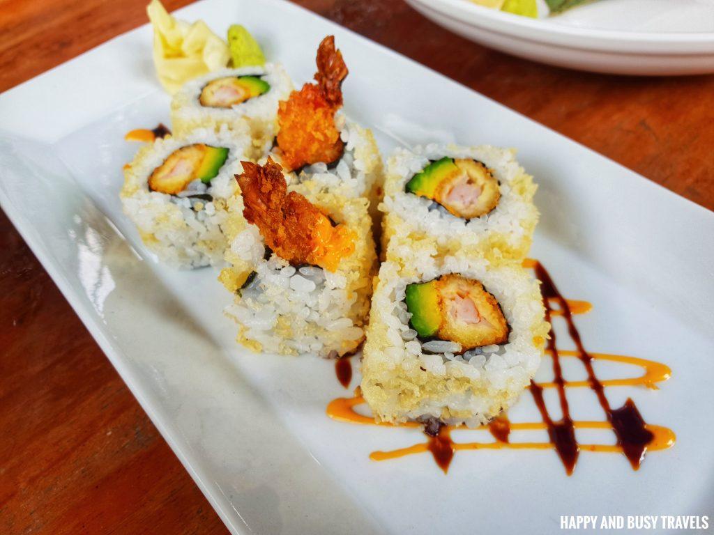 Shrimp Tempura Rolls Marcus Cafe Villa Jovita - Happy and Busy Travels to Silang