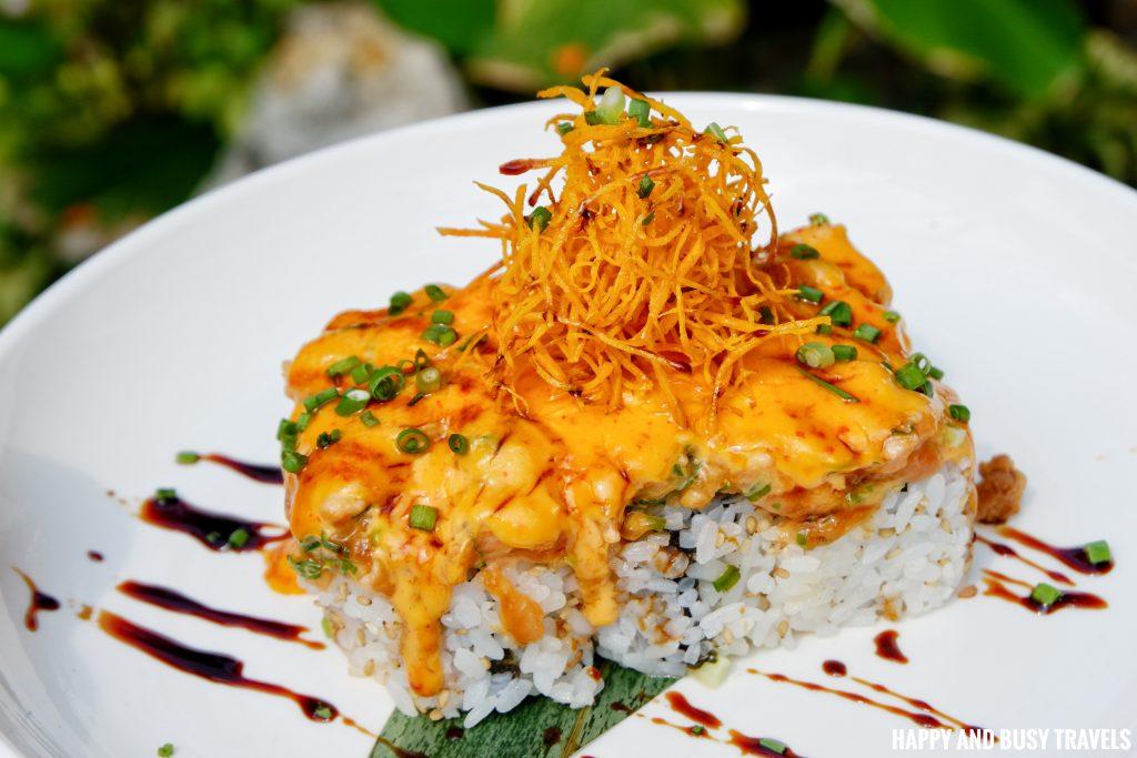 aburi salmon BTS sushi Marcus Cafe Villa Jovita - Happy and Busy Travels to Silang