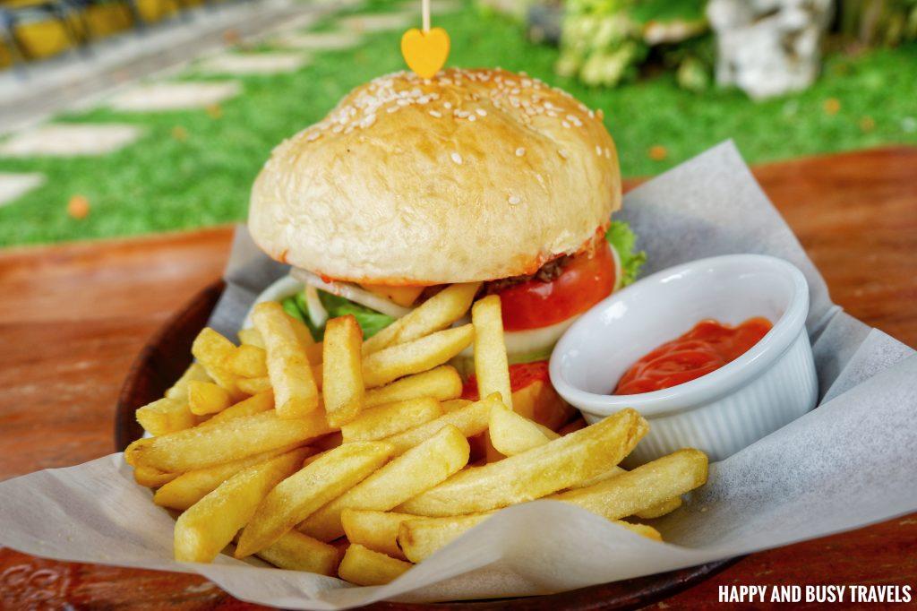 Angus Burger Marcus Cafe Villa Jovita - Happy and Busy Travels to Silang