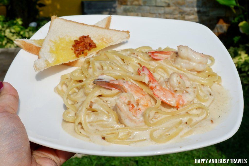MC Carbonara Marcus Cafe Villa Jovita - Happy and Busy Travels to Silang