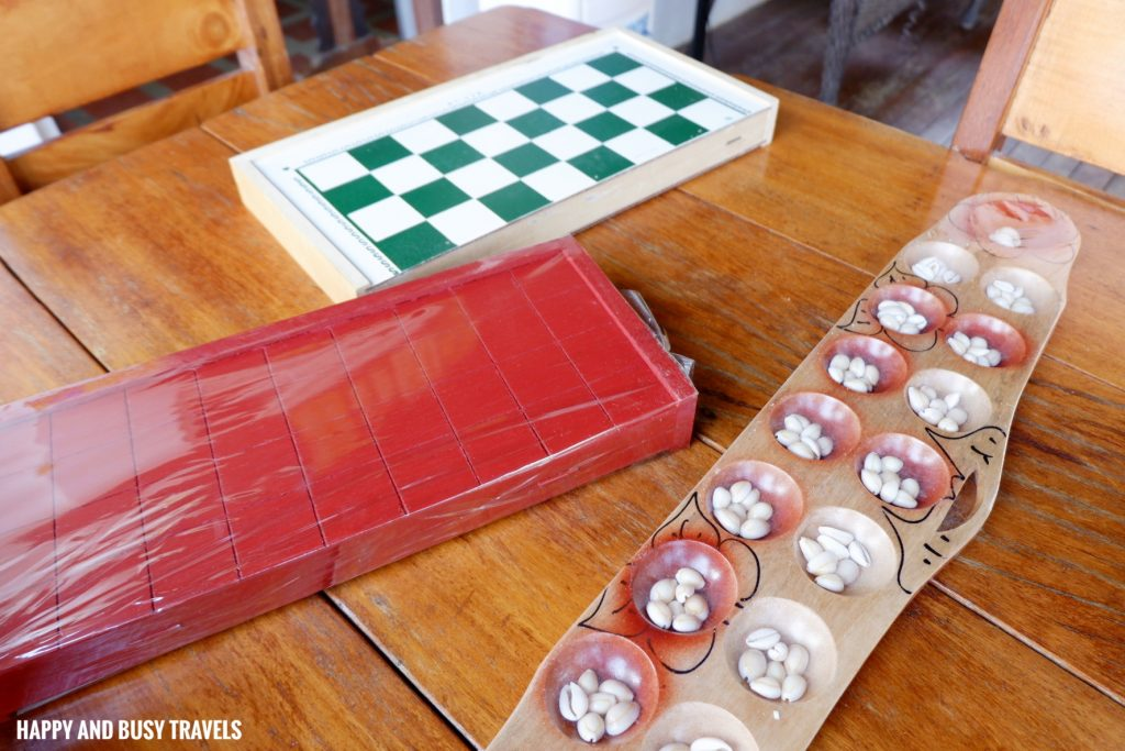 Board games Tanaw sa Anilao bed and breakfast Happy and Busy Travels to Batangas