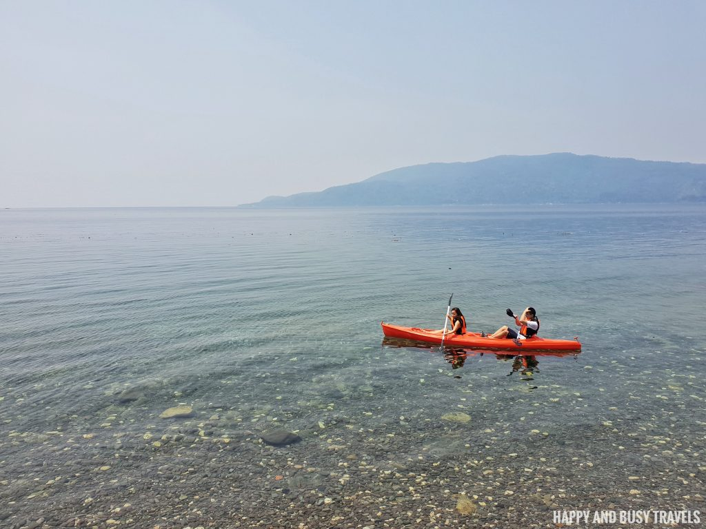 what to do anilao beach kayak Tanaw sa Anilao bed and breakfast Happy and Busy Travels to Batangas