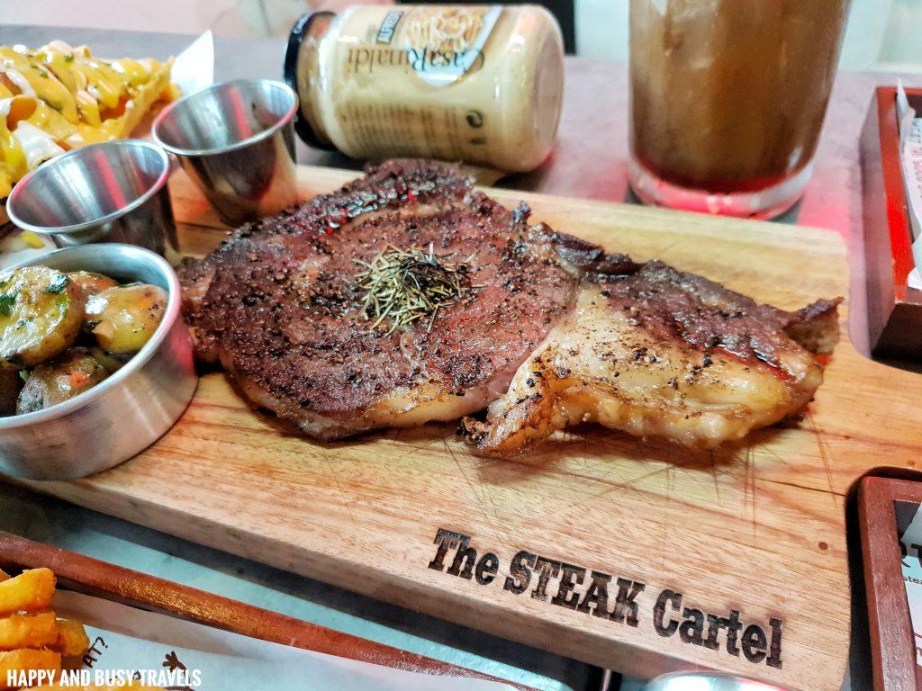USDA Ribeye Steak The Steak Cartel Calamba Laguna - Happy and Busy Travels