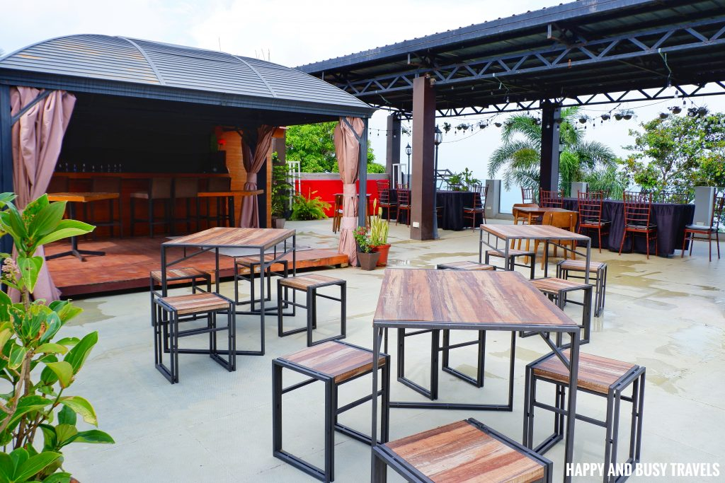 Roofdeck Guada's Bistro Amega Hotel - Happy and Busy Travels Where to stay in Tagaytay