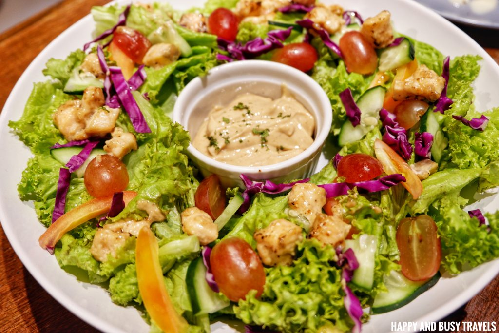 Torched Salmon Salad Brewista Cafe Lipa - Happy and Busy Travels Batangas