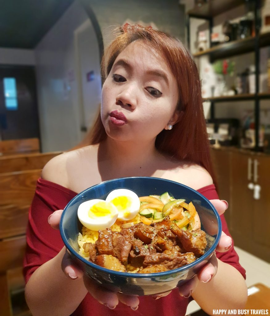 Inasal Pork Adobo Brewista Cafe Lipa - Happy and Busy Travels Batangas
