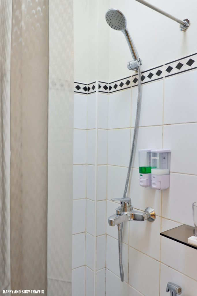 shower standard room Casa Amega Happy and Busy Travels to Tagaytay