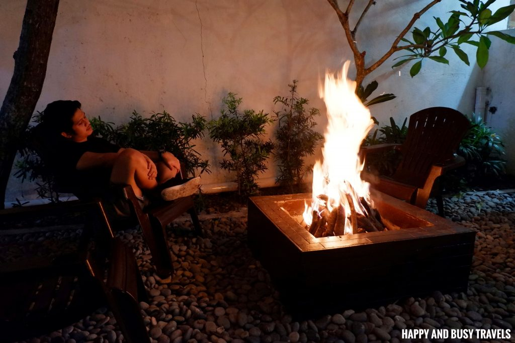 fire place bonfire Casa Carlita Resort and Events Place - Happy and Busy Travels Lipa Batangas