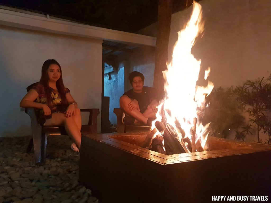 fire place bon fire Casa Carlita Resort and Events Place - Happy and Busy Travels Lipa Batangas