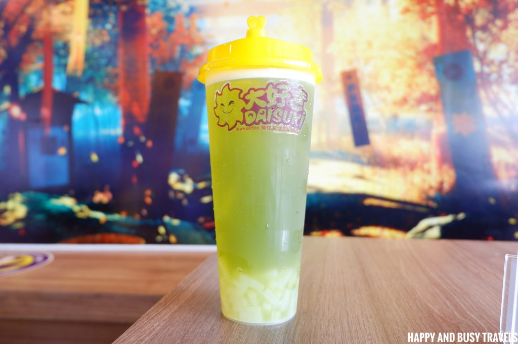 Green Apple Fruit Tea Daisuki Lancaster - Happy and Busy Travels to Cavite