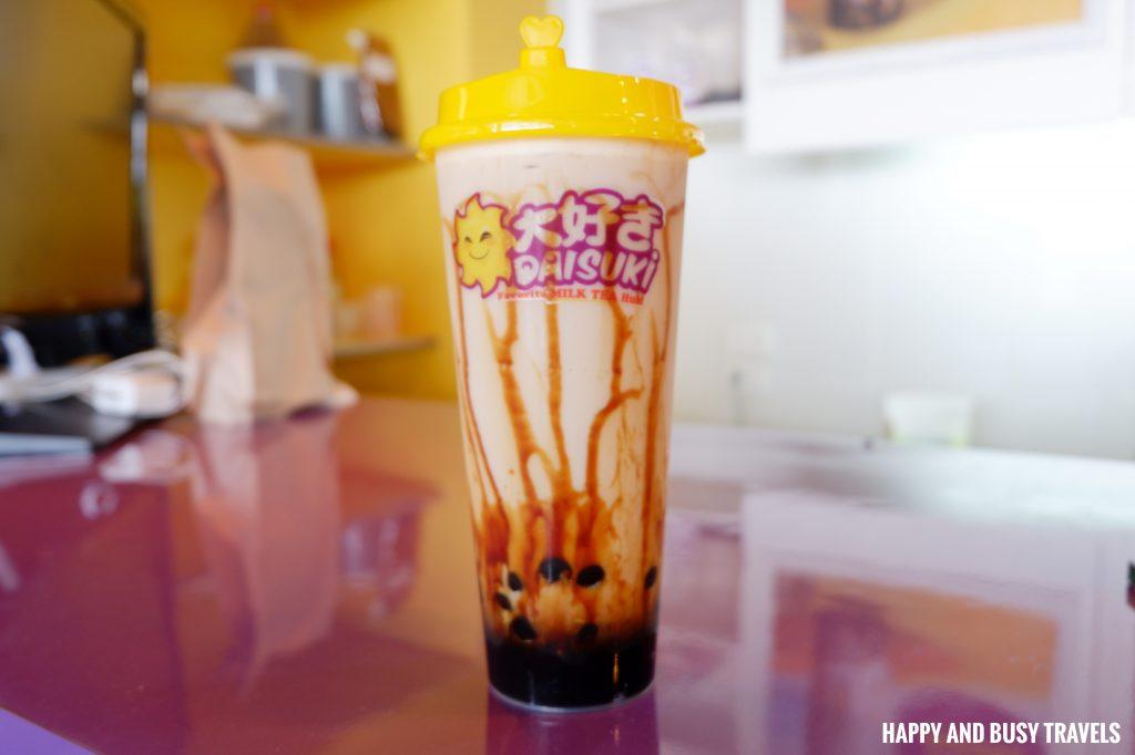 Tora Bubble Milk Tea Daisuki Lancaster - Happy and Busy Travels to Cavite