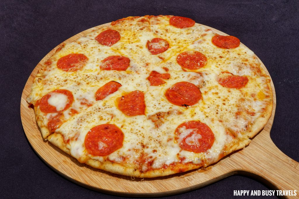 Peperoni Pizza Guadas Bistro - Happy and Busy Travels Where to eat in Tagaytay