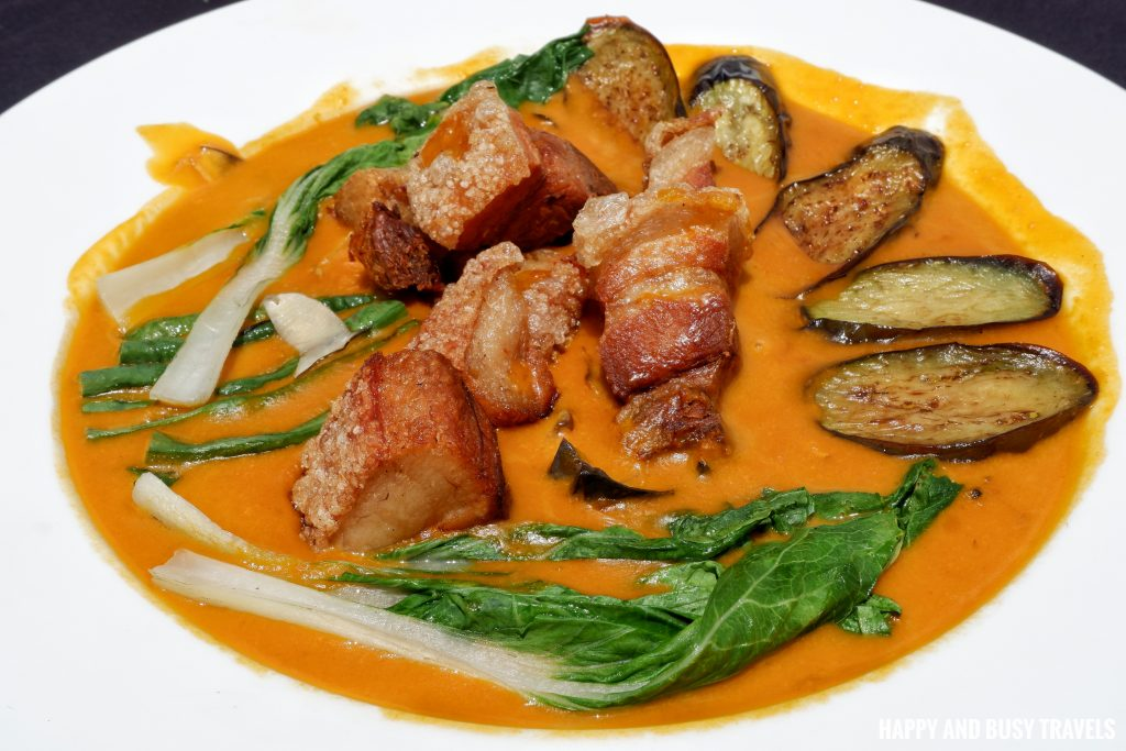 Kare Kareng Bagnet Guadas Bistro - Happy and Busy Travels Where to eat in Tagaytay