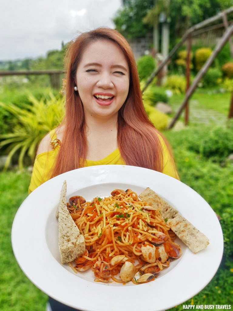 Vongole Guadas Bistro - Happy and Busy Travels Where to eat in Tagaytay