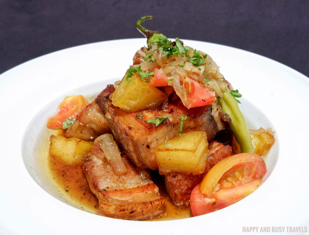 Adobo sa Puti Guadas Bistro - Happy and Busy Travels Where to eat in Tagaytay