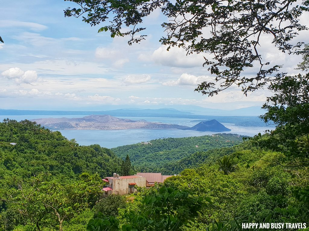 taal view Guadas Bistro - Happy and Busy Travels Where to eat in Tagaytay