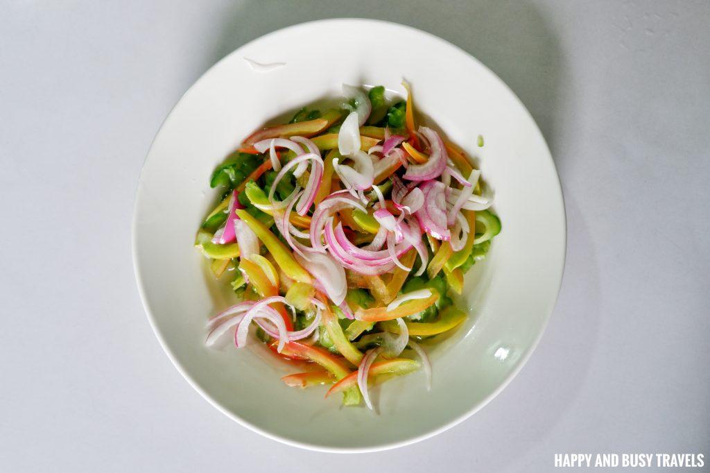 Ensaladang Ampalaya Hapag Filipino Restaurant - Happy and Busy Travels to Lipa Batangas