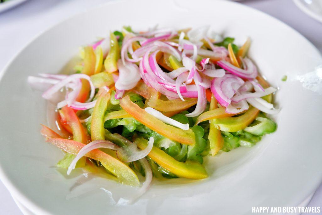 Enseladang Ampalaya Hapag Filipino Restaurant - Happy and Busy Travels to Lipa Batangas