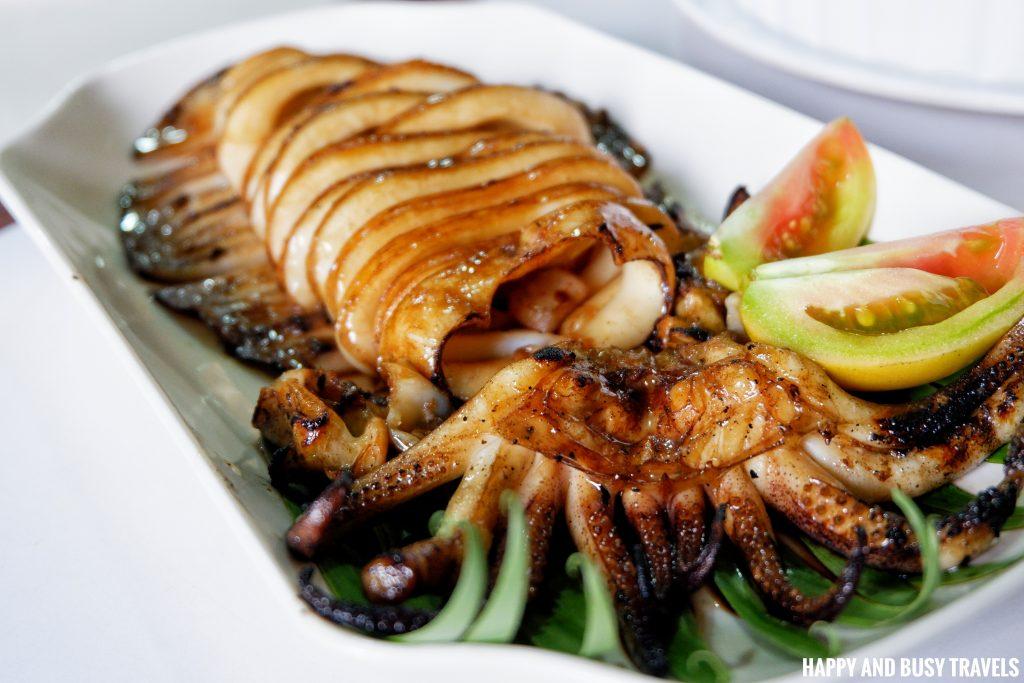 Inihaw na Pusit Hapag Filipino Restaurant - Happy and Busy Travels to Lipa Batangas