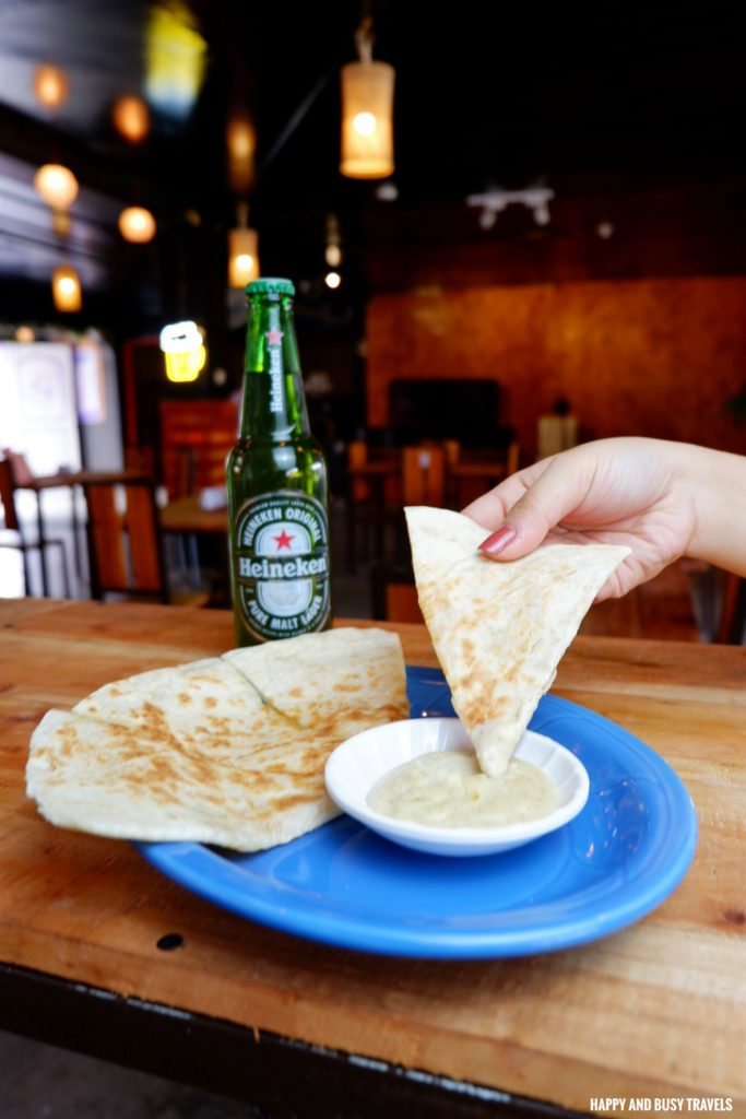 Quesadilla de Queso Jump Off Bar and Grill Ph - Happy and Busy Travels to Cavite