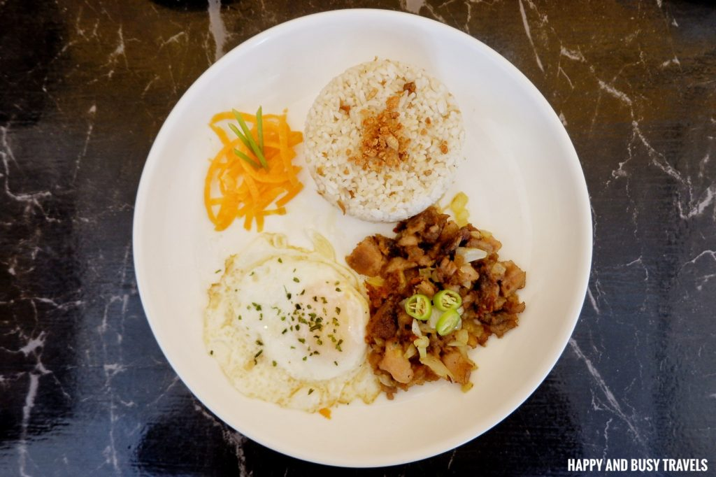 Sisig Zisilog AndrewZ Cafe - Happy and Busy Travels Silang Cavite Where to eat in Cavite