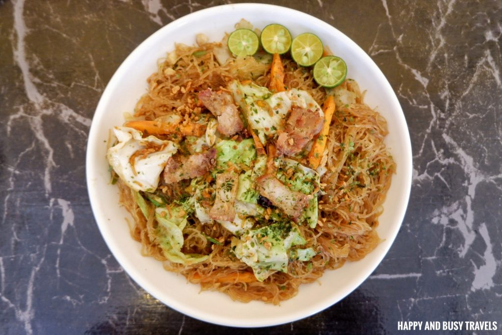 Pansit PAncit Panzit sa Bilao AndrewZ Cafe - Happy and Busy Travels Silang Cavite Where to eat in Cavite