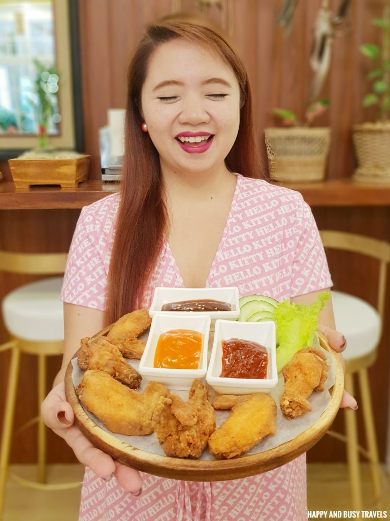chicken wings Coffee and Dreams Tagaytay - Happy and Busy Travels Where to eat in Tagaytay