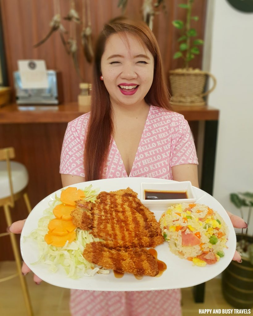 Pork Tonkatsu Coffee and Dreams Tagaytay - Happy and Busy Travels Where to eat in Tagaytay