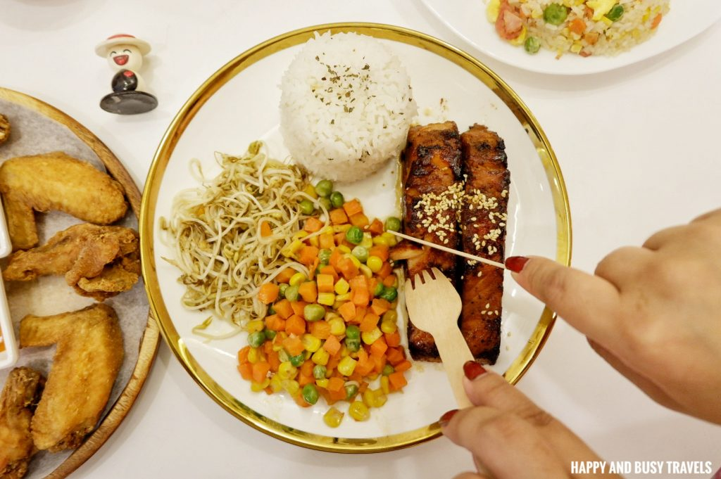 Grilled Salmon Teriyaki Coffee and Dreams Tagaytay - Happy and Busy Travels Where to eat in Tagaytay