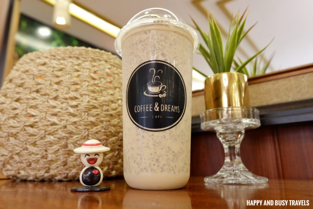 Signature drink Coffee and Dreams Tagaytay - Happy and Busy Travels Where to eat in Tagaytay