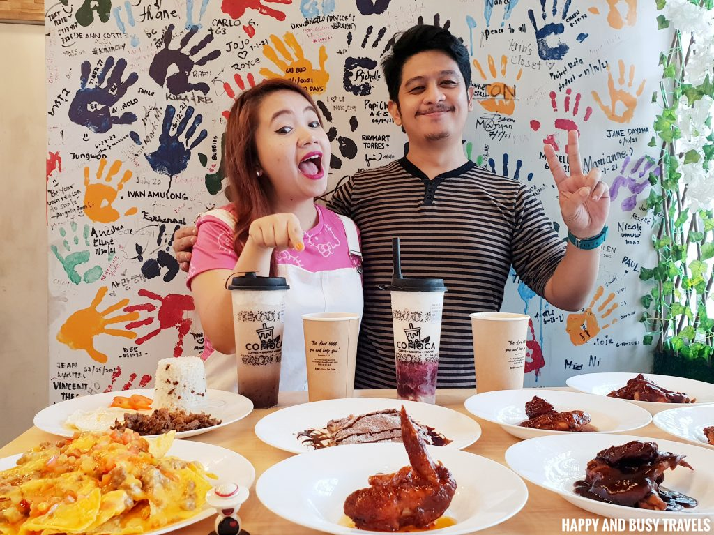 Chicken Wings Cofioca Coffee Miktea Frappe and wings - Happy and Busy Travels Where to eat in Tagaytay
