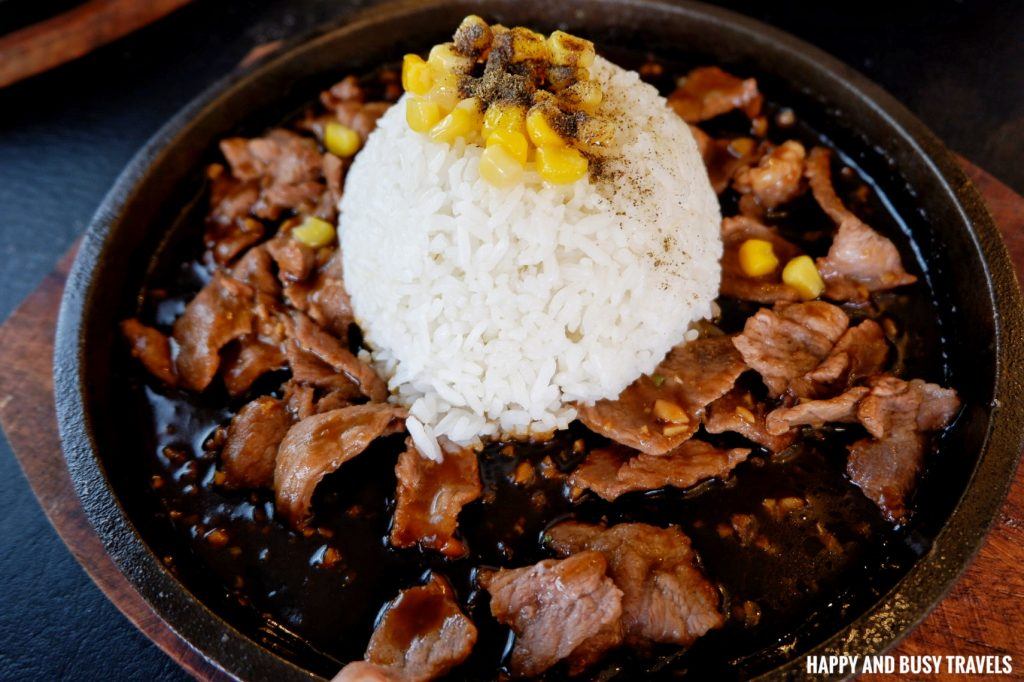 Sizzling Beef Pepper Steak Massa Pizza Dasmarinas Cavite - Happy and Busy Travels