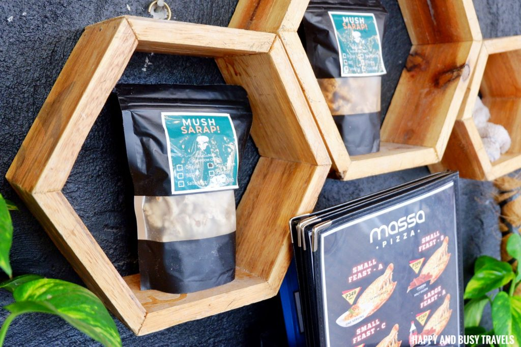 mushroom chips Massa Pizza Dasmarinas Cavite - Happy and Busy Travels
