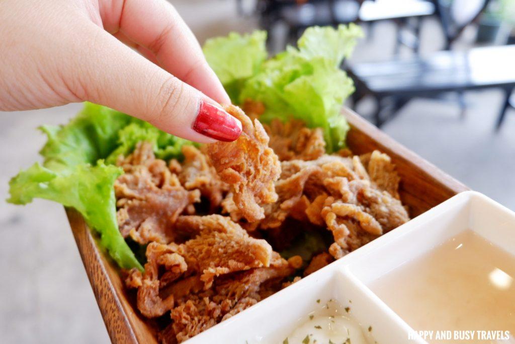 mushroom chips Massa Pizza Dasmarinas Cavite - Happy and Busy Travels where to eat in dasmarinas cavite