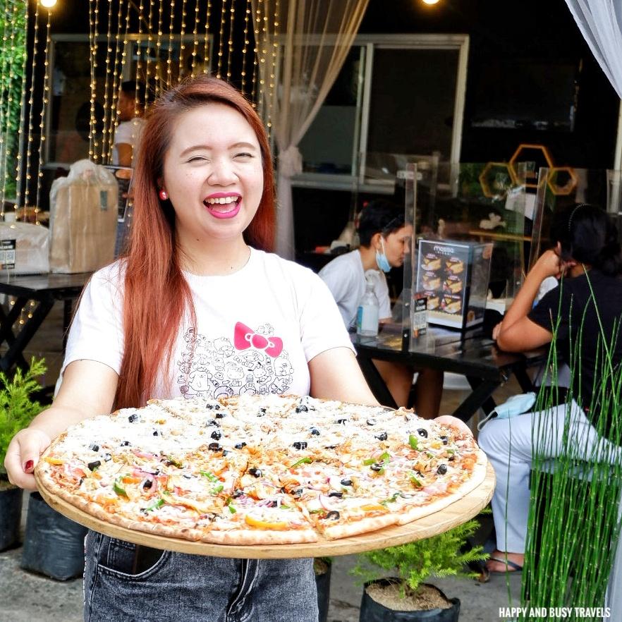 giant pizza Massa Pizza Dasmarinas Cavite - Happy and Busy Travels where to eat in dasmarinas cavite
