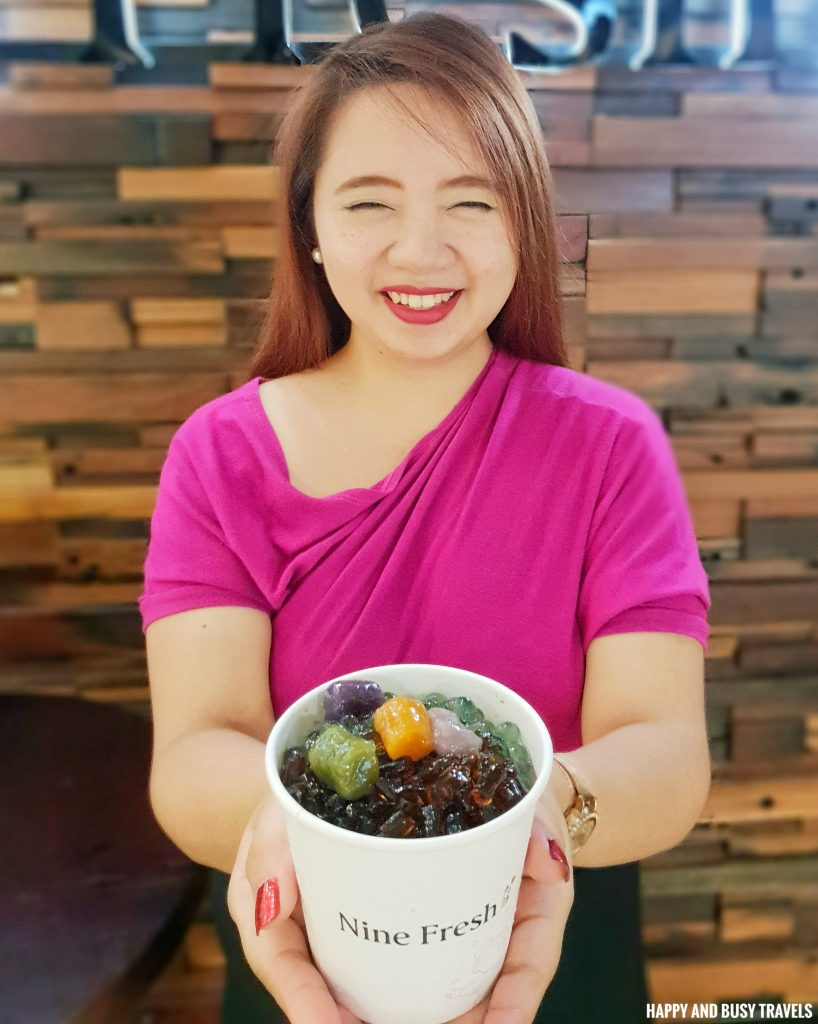 Grass Jelly Special Nine Fresh SM Southmall - Happy and Busy Travels