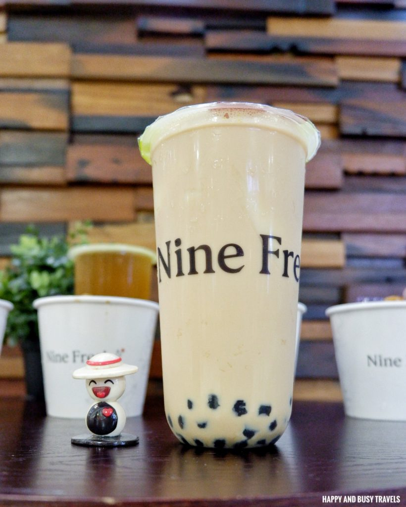 Rich Milk Tea Nine Fresh SM Southmall - Happy and Busy Travels