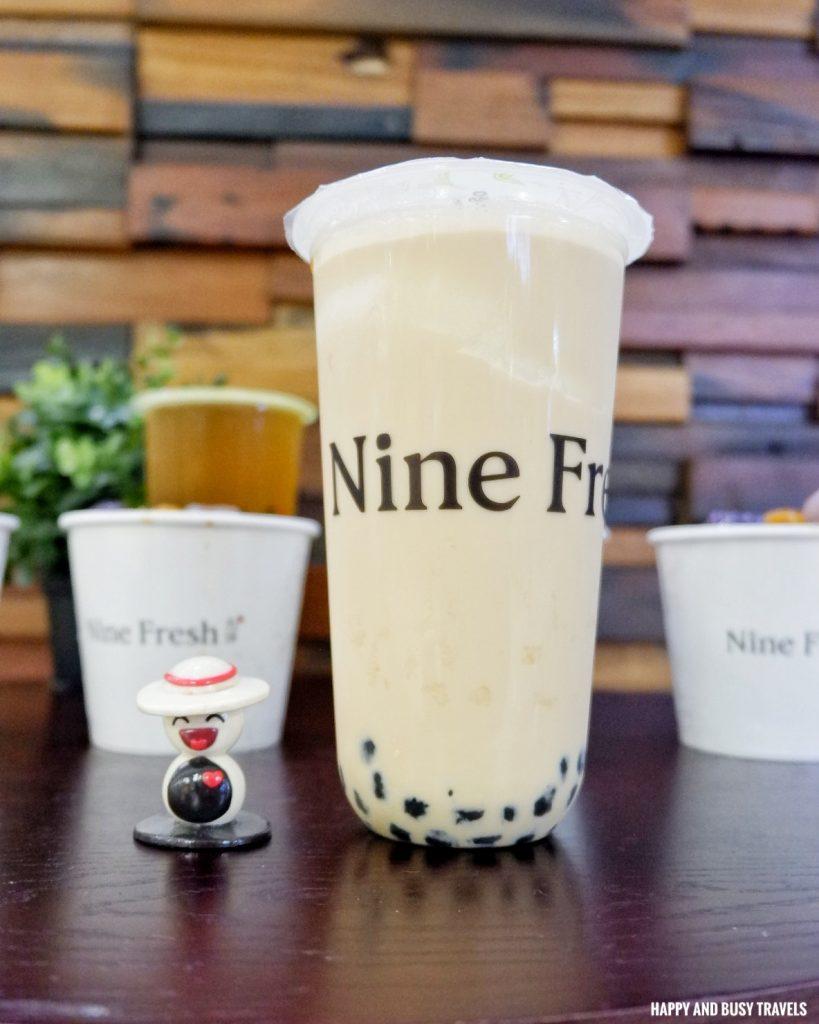 Earl Grey Milk Tea Nine Fresh SM Southmall - Happy and Busy Travels