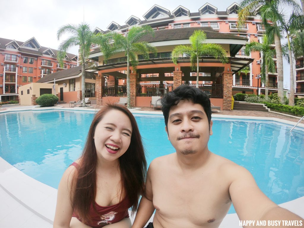 swimming pool Rafanya Sanctuary - Happy and Busy Travels Where to stay in Tagaytay Condo Unit Wellington Courtyard