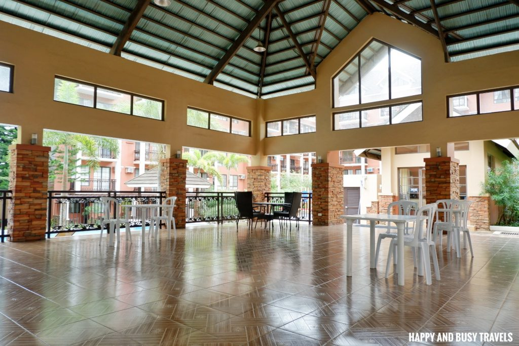 events area Rafanya Sanctuary - Happy and Busy Travels Where to stay in Tagaytay Condo Unit Wellington Courtyard