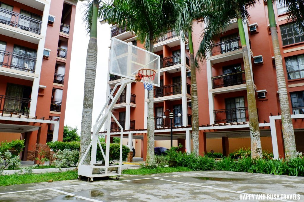 basketball court Rafanya Sanctuary - Happy and Busy Travels Where to stay in Tagaytay Condo Unit Wellington Courtyard