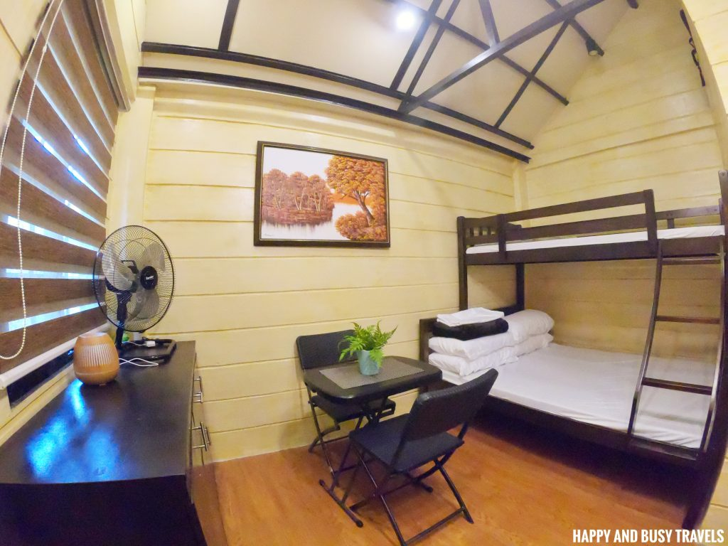 inside cabin 3 Ethans Cabin - Where to stay in Tagaytay - Happy and Busy Travels