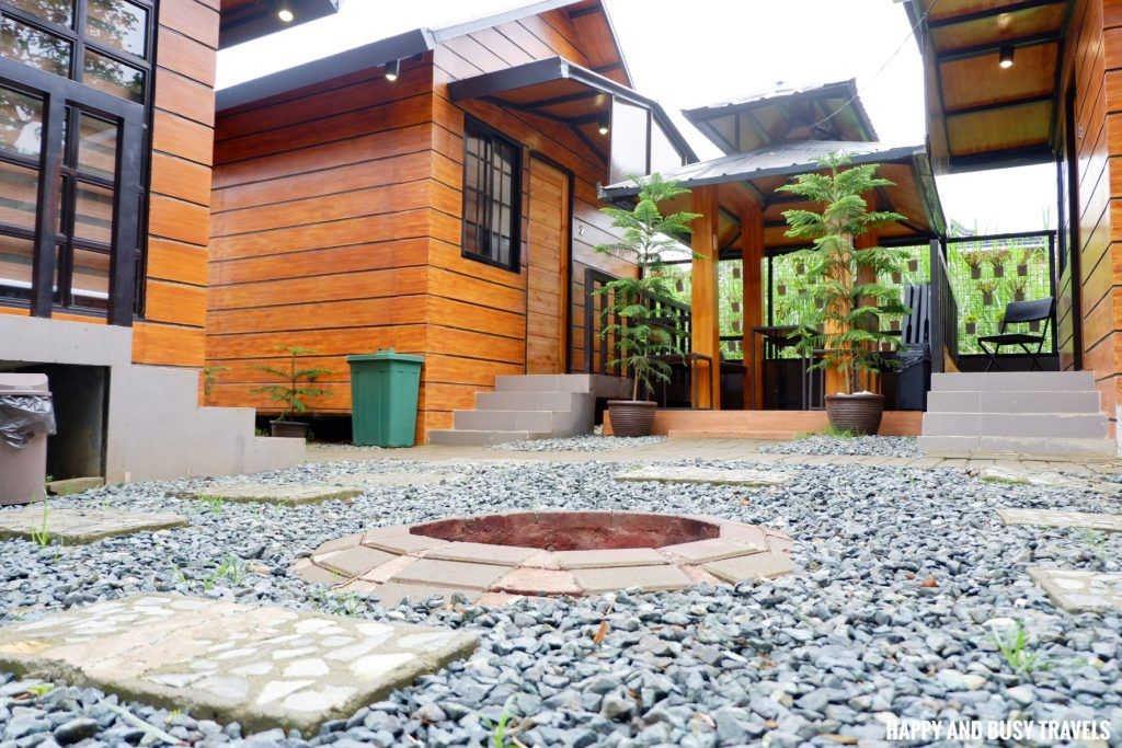 Fire pit Ethans Cabin - Where to stay in Tagaytay - Happy and Busy Travels