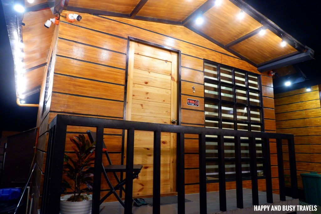 cabin 1 at night Ethans Cabin - Where to stay in Tagaytay - Happy and Busy Travels